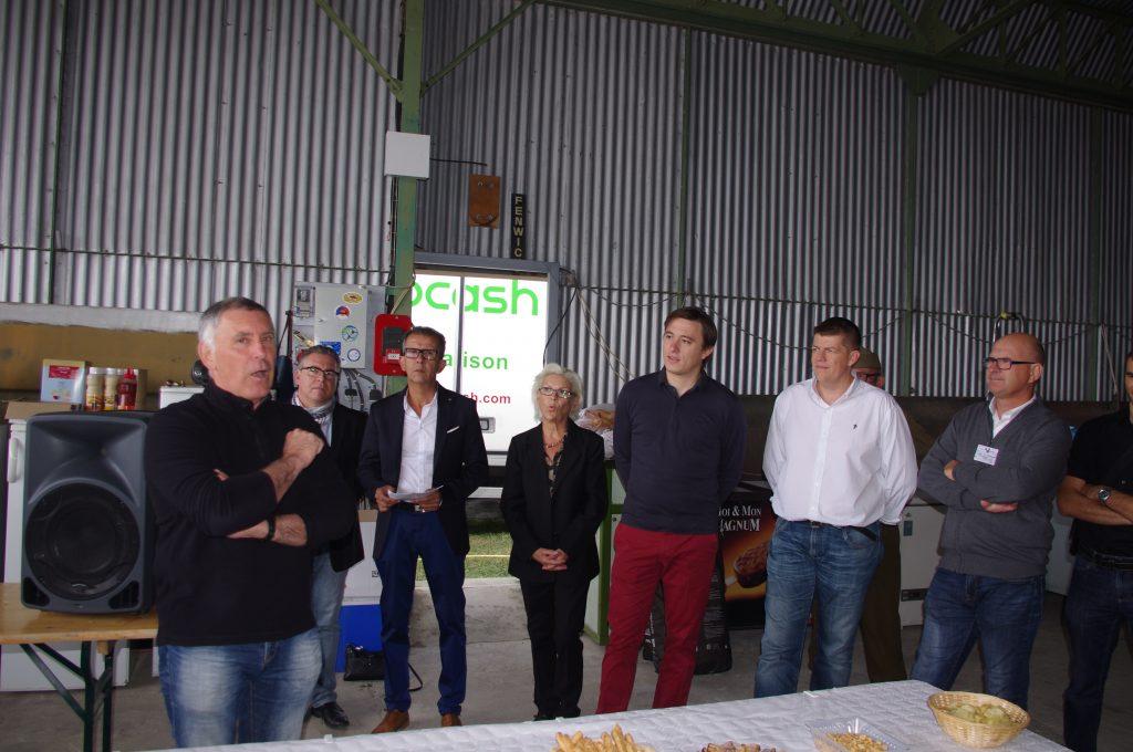 Les élus ont assisté à l'inauguration: Nicolas Durieux-Desmonteix, Maurice Sabarot, Nicole Astier, Laurent Lanfray, Christophe Féret (le maire d'Ancône). Et Nicolas Pereira un ami de longue date du musée (pas sur la photo).
